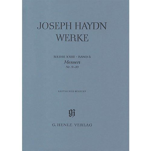G. Henle Verlag Masses No 9 - 10series Xxiii Volume 3 Henle Edition Series Hardcover