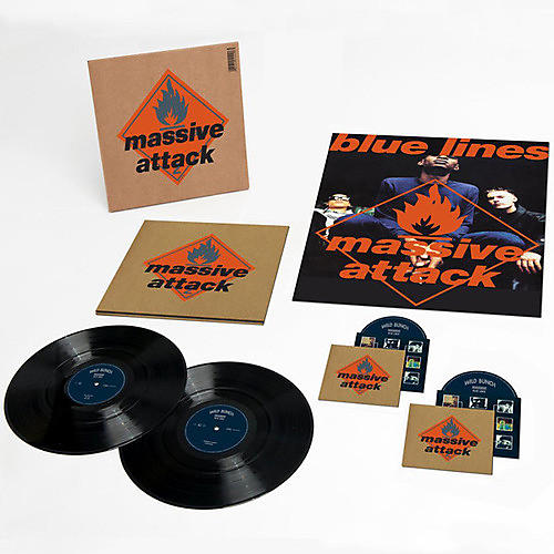 Alliance Massive Attack - Blue Lines [Remastered] [Deluxe Edition] [2LP/1CD/1DVD]