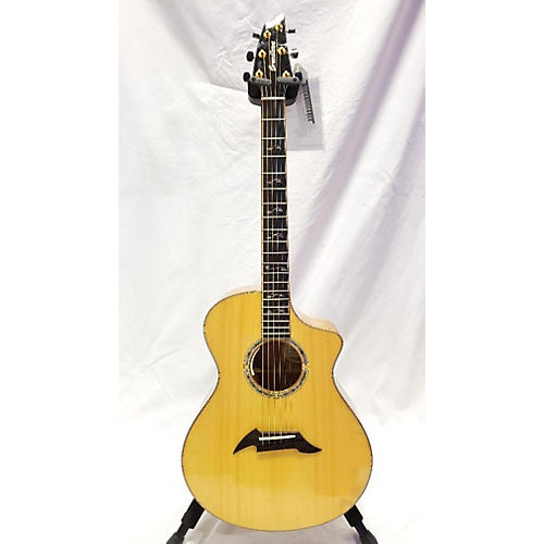 Breedlove Master Class Concert Acoustic Electric Guitar Natural