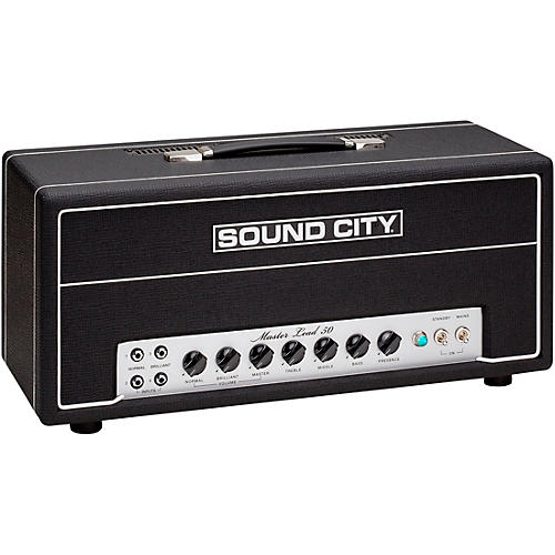 Sound City Master Lead 50 50W Tube Guitar Amp Head Condition 1 - Mint