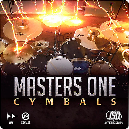 Joey Sturgis Drums Master One Cymbals