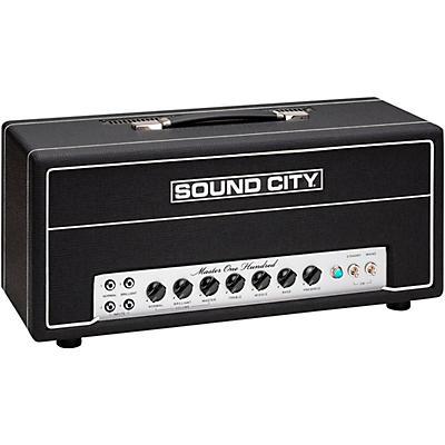 Sound City Master One Hundred 100W Tube Guitar Amp Head