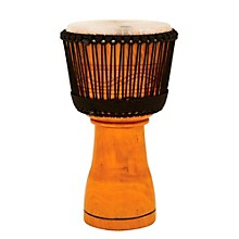 Master Series Djembe with Padded Bag Natural Finish 12 in.