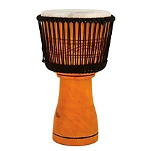 Master Series Djembe with Padded Bag Natural Finish 13 in.