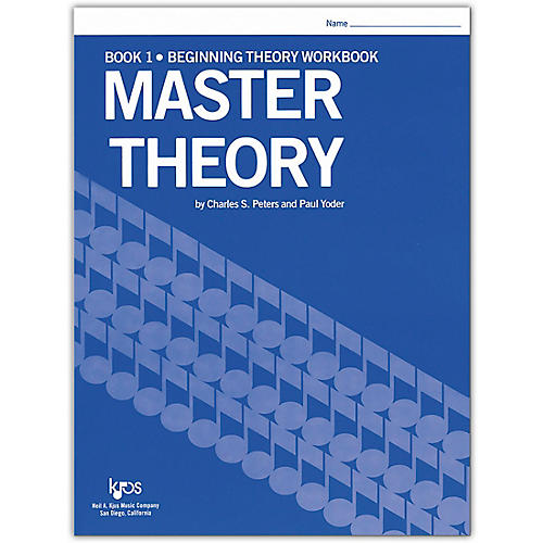 KJOS Master Theory Series Book 1 Beginning Theory