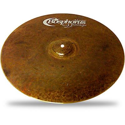 Bosphorus Cymbals Master Vintage Crash Cymbal