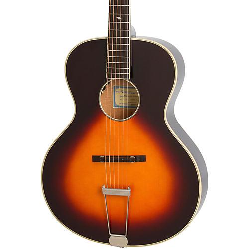 epiphone masterbilt century collection zenith archtop acoustic electric guitar vintage sunburst. Black Bedroom Furniture Sets. Home Design Ideas