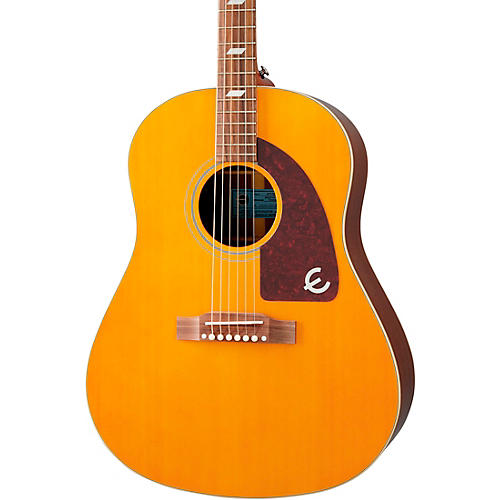 Epiphone Masterbilt Texan Acoustic-Electric Guitar Antique Natural Aged Gloss