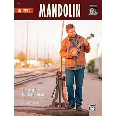 Alfred Mastering Mandolin Book w/CD