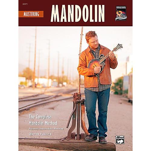 Alfred Mastering Mandolin Book w/CD