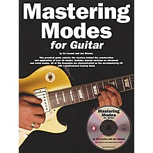 Music Sales Mastering Modes for Guitar Music Sales America Series Softcover with CD Written by Ed Lozano