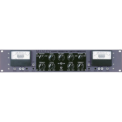 Manley Mastering Stereo Variable Mu Limiter Compressor