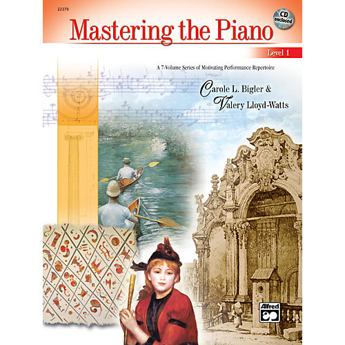 Alfred Mastering the Piano Level 1 Book & CD 1