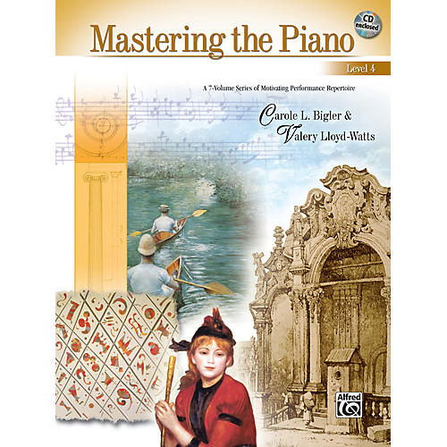 Alfred Mastering the Piano Level 4 Book & CD 4