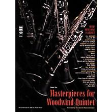 Hal Leonard Masterpieces for Woodwind Quintet Clarinet