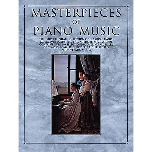 Music Sales Masterpieces of Piano Music Music Sales America Series Softcover