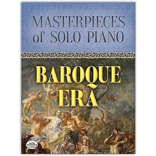 DOVER Masterpieces of Solo Piano: Baroque Era Book Intermediate