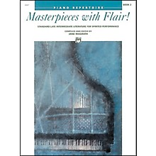 Alfred Masterpieces with Flair! Book 2 Intermediate/Late Intermediate Piano