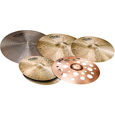 Paiste Masters Dark Dry Cymbal Set