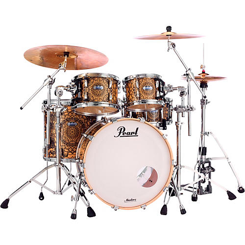 Pearl Masters Maple 4-Piece Shell Pack Cain & Abel