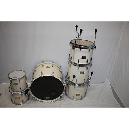 Pearl Masters Studio MBX Birch Drum Kit White