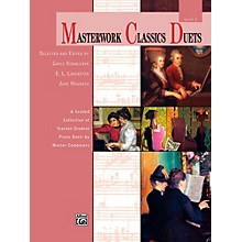Alfred Masterwork Classics Duets Level 2 Elementary / Late Elementary