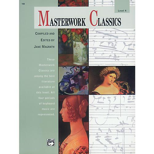 Alfred Masterwork Classics Level 4 Level 4 Book & CD