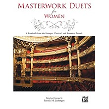Alfred Masterwork Duets for Women Book