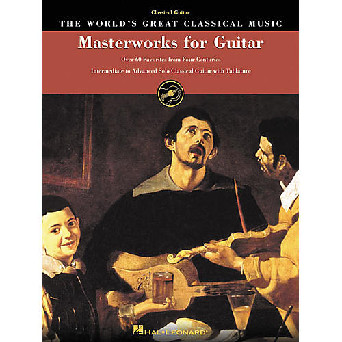 Hal Leonard Masterworks for Guitar Great Classical Music Tab & Notation