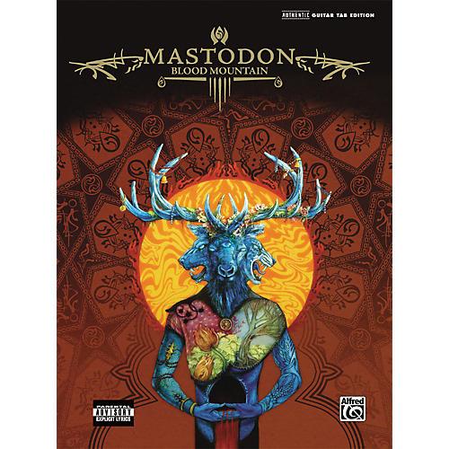 Alfred Mastodon Blood Mountain Guitar Tab Songbook