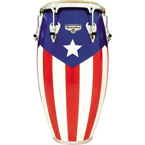 LP Matador Puerto Rican Flag Conga 12-1/2 in.