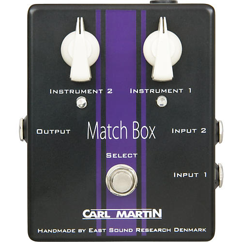 Carl Martin Match Box Line Selector Condition 1 - Mint