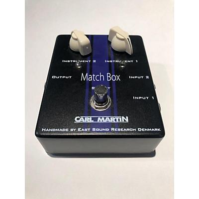 Carl Martin Match Box Line Selector Pedal
