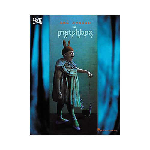 Hal Leonard Matchbox Twenty - Mad Season Piano/Vocal/Guitar Artist Songbook
