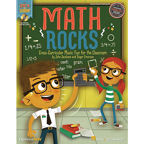 Hal Leonard Math Rocks (Cross-Curricular Music Fun for the Classroom) Performance/Accompaniment CD by John Jacobson