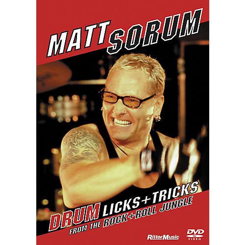 Rittor Music Matt Sorum - Drum Licks + Tricks From The Rock + Roll Jungle (DVD)
