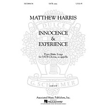 Associated Matthew Harris - Innocence & Experience (Three Blake Songs for SATB Chorus, a cappella) by Matthew Harris