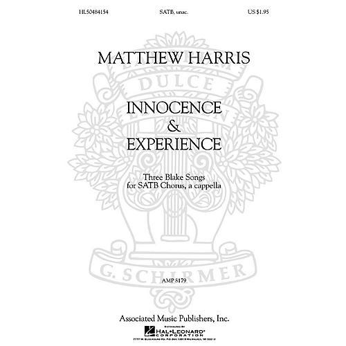 Associated Matthew Harris - Innocence & Experience (Three Blake Songs for SATB Chorus, a cappella) by Matthew Harris