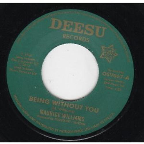 Alliance Maurice Williams - Being Without You/Return