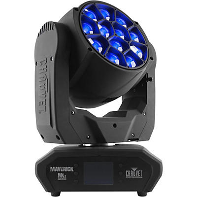 CHAUVET Professional Maverick MK2 Wash Professional RGBW LED with Zoom, Pixel Mapping and Wireless DMX
