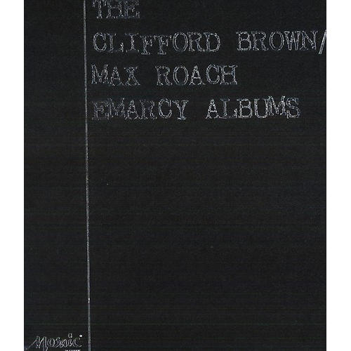 Alliance Max Roach & Clifford Brown - Clifford Brown/Max Roach Emarcy Albums