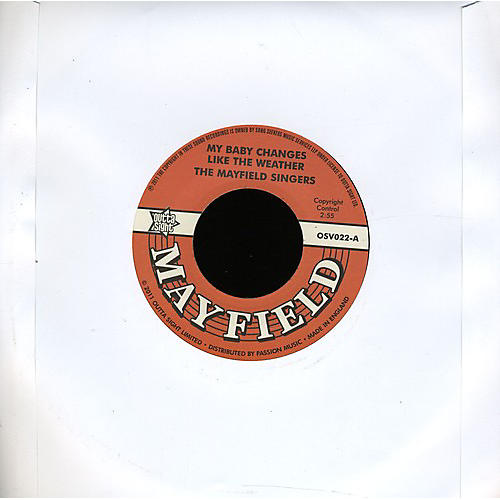 Alliance Mayfield Singers - My Baby Changes Like the Weather/Don't Start None