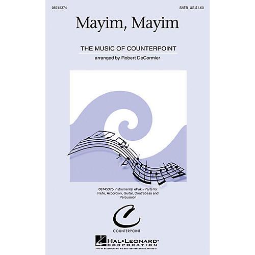 Hal Leonard Mayim, Mayim SATB arranged by Robert DeCormier
