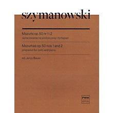 PWM Mazurkas Op. 50 No. 1 and 2 Cello and Piano by Szymanowski