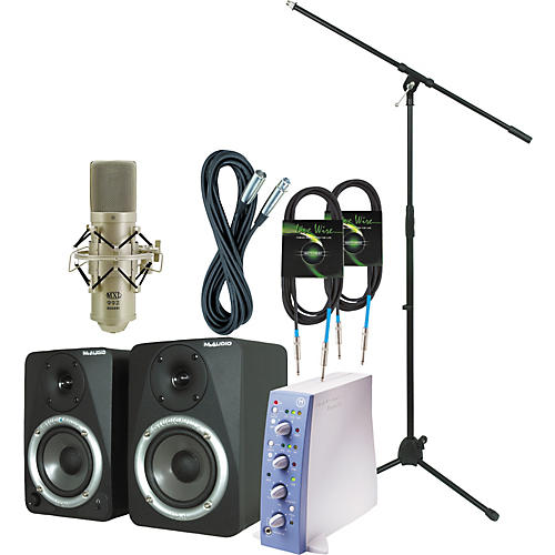 Digidesign Mbox Recording Bundle