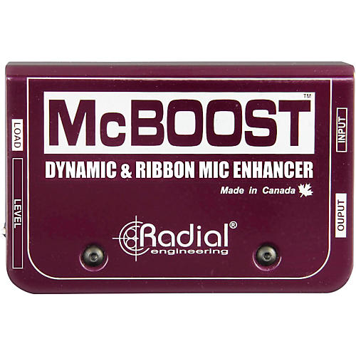 Radial Engineering McBoost Microphone Signal Intensifier Condition 1 - Mint Regular