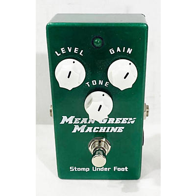 Stomp Under Foot Mean Green Machine Effect Pedal