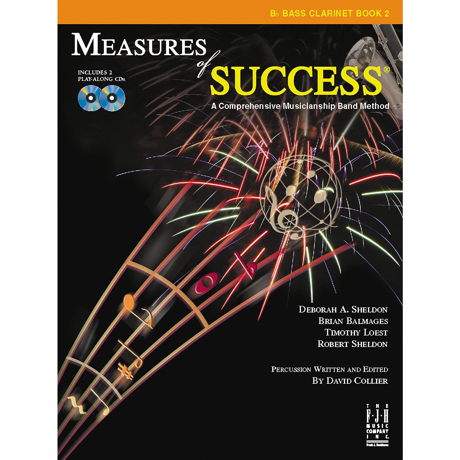 FJH Music Measures of Success Bass Clarinet Book 2