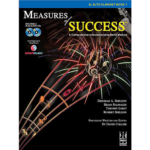 FJH Music Measures of Success E-flat Alto Clarinet Book 1