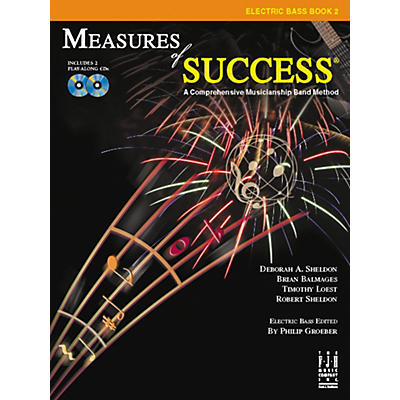FJH Music Measures of Success Electric Bass Book 2